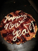 Mandy wrote the new year`s greeting in mayonnaise